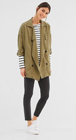 Esprit Softly draped jacket, double-breasted look
