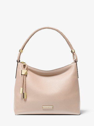 Michael Kors Lexington Medium Pebbled Leather Shoulder Bag