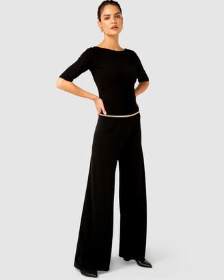 SACHA DRAKE - Women's Black Dress Pants - Seamless Stretch Pants - Size One Size, 8 at The Iconic