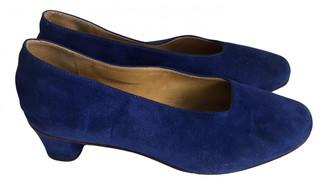 Martiniano Blue Suede Heels