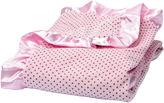 Trend Lab TREND LAB, LLC Pink Polka Dot Velour Blanket
