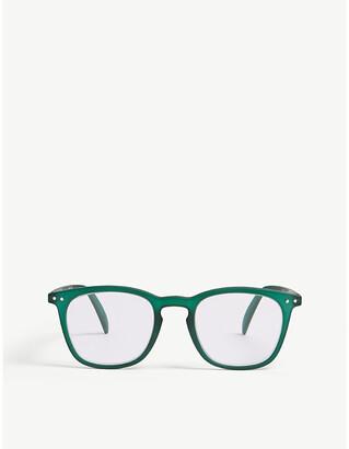 IZIPIZI #E Reading square-frame glasses +2