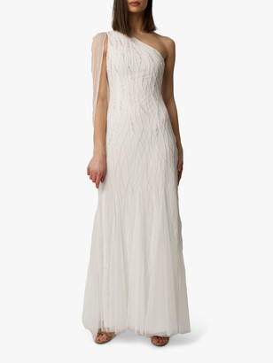 Raishma Mila Embroidered Bridal Gown, Off White