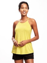 Old Navy Relaxed High-Neck Y-Back Tank for Women