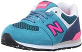 New Balance KL574 Summer Utility Infant Running Shoe (Infant/Toddler)