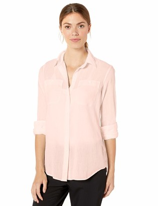 Chaps Women's Utility Button Down Shirt