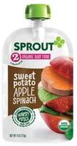 Sprout 4 oz. Stage 2 Organic Baby Food in Sweet Potato, Apple, Grape and Spinach
