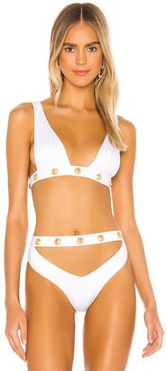 MONICA Hansen Beachwear Deep U Halter Bikini Top
