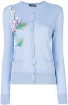 Dolce & Gabbana floral embroidered cardigan