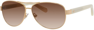 Kate Spade Dalia Aviator Sunglasses