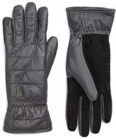 URBAN RESEARCH Women's U|R Quilted Touchscreen Compatible Gloves