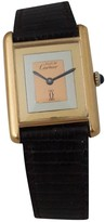 Vintage Cartier Tank Must Multicolour Gold plated Watches