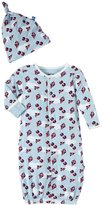 Kickee Pants Layette Gown & Hat Set (Baby) - Boy Flying Kites-0-3 Months