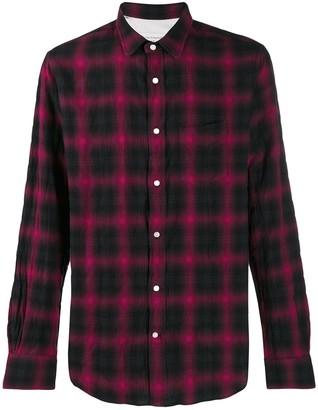 Officine Generale Plaid Shirt