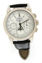 Patek Philippe Grand Complications 5270G-018 18K White Gold Chronograph Moon Phase Mens Watch