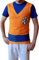 Ripple Junction mens Mens Dragonball Z Goku Costume T-Shirt
