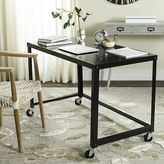 west elm Simple Metal Desk - Black
