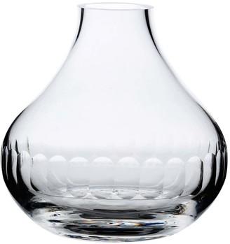 The Vintage List A Hand-Engraved Crystal Vase With Lens Design