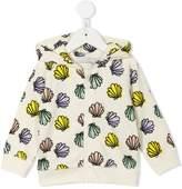 Stella McCartney Bertie Shells print hoodie