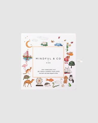 Mindful & Co - White Educational & Science Toys - Yoga Flash Cards - Size One Size, One size at The Iconic
