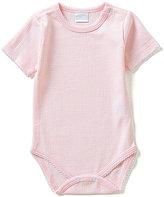 Edgehill Collection Baby Girls Newborn-6 Months Solid Bodysuit
