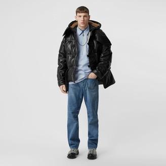 Burberry Ponge ambskin Puffer Jacket
