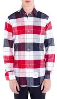 Thom Browne Multicolored Cotton Casual Button-Down Shirt