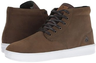 Emerica Romero Laced High (Brown/White) Men's Shoes