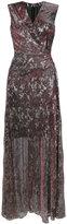 Talbot Runhof koro dress - women - Polyester/Spandex/Elastane/Viscose - 34