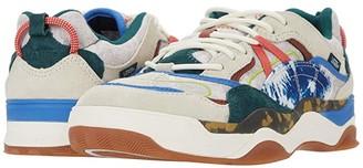 Vans Varix WC ((Tie-Dye Clash) Antique White/Bistro Green) Athletic Shoes