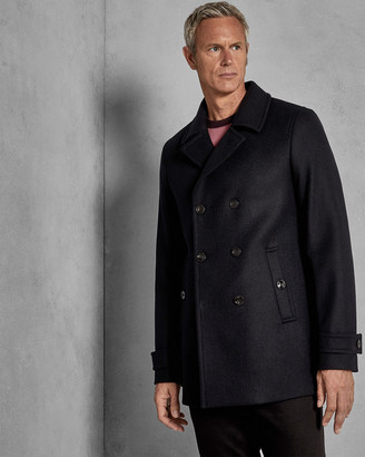 Ted Baker GRILLTT Double breasted wool pea coat