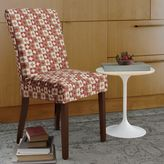FurnitureSkinsTM Avalon Dining Chair Slipcover with Buttons in Rustic Red