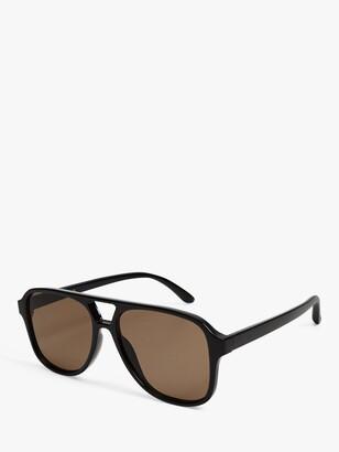 MANGO Naxos Women's Aviator Sunglasses