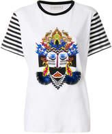 Etro printed stripe sleeve T-shirt
