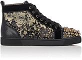 Christian Louboutin Men's Mad Sneaks Flat Sneakers