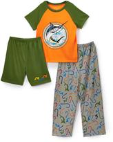 Komar Kids Swordfish Sleep Tee Shorts & Pants - Boys