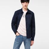 Paul Smith Men's Navy Cotton-Twill Stretch Chore Jacket