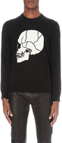 The Kooples Skull-front knitted jumper