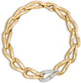 John Hardy Link Necklace with Diamonds