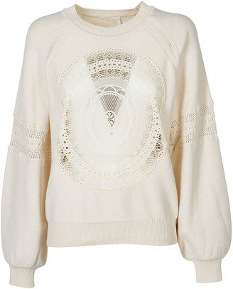 Chloé Embroidered Sweatshirt