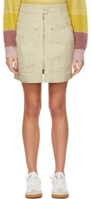 Etoile Isabel Marant Beige Pilademi Miniskirt