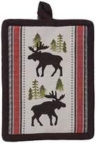 Kay Dee Designs R3302 Simple Living Moose Printed Woven Potholder