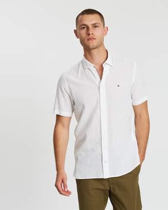 Tommy Hilfiger Cotton Linen SS Shirt