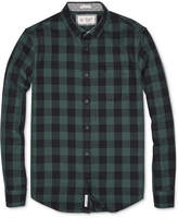 Original Penguin Men's Long Sleeve Check Slim-Fit Shirt