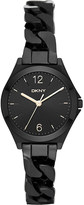 DKNY NY2426 parsons ion-plated stainless steel watch