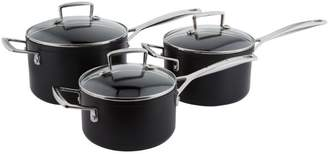 Le Creuset Non-Stick Saucepans (Set Of 3)