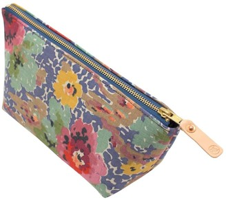 General Knot & Co Vintage Indian Head Floral Travel Clutch