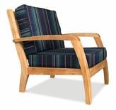 Ortega Deep Seating Teak Patio Chair with Sunbrella Cushions Rosecliff Heights