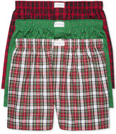 Tommy Hilfiger Men's 3-Pk. Printed Cotton Boxers