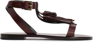 Michael Kors Tasseled Leather Sandals